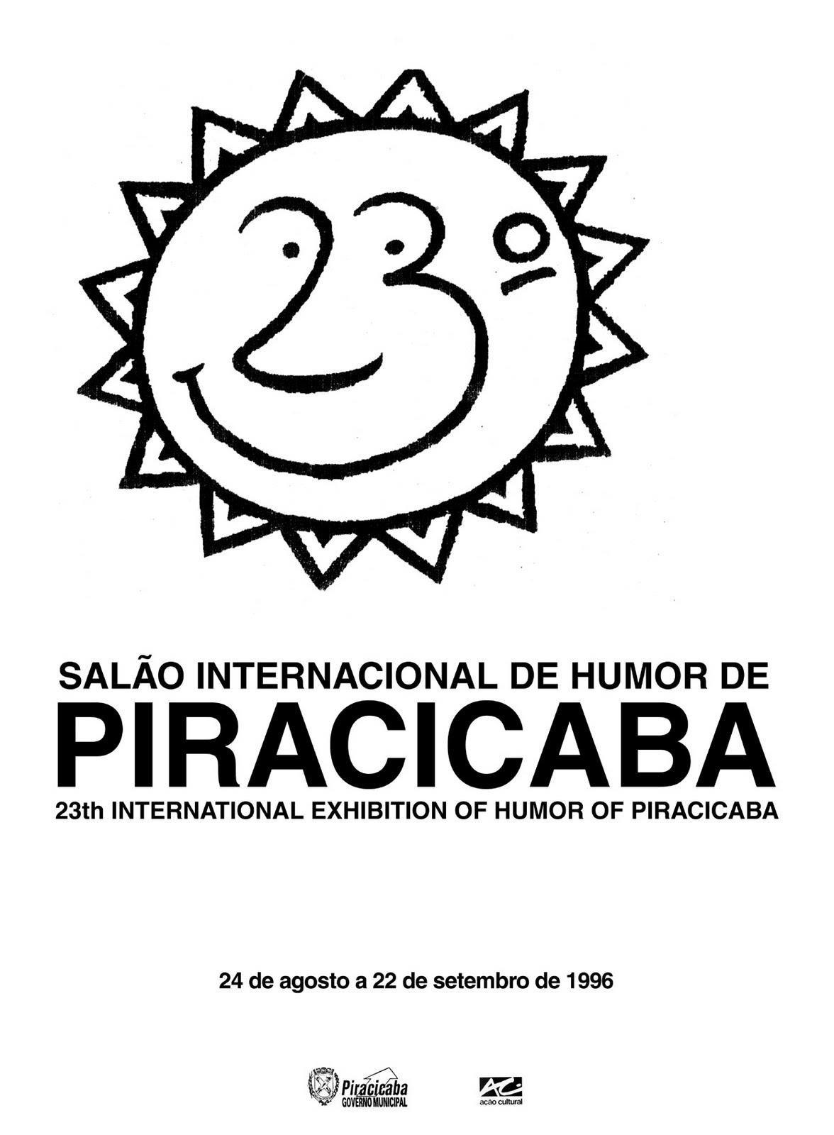 1996 – 23º Salão Internacional de Humor de Piracicaba