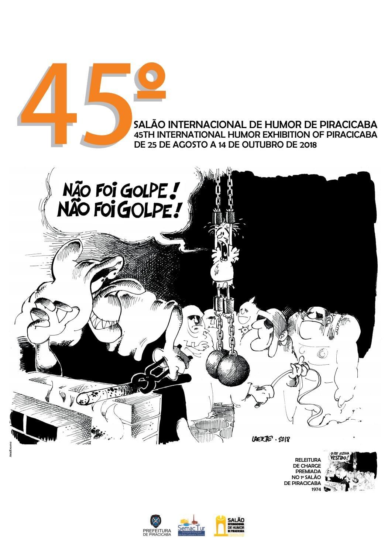 2018 – 45º Salão Internacional de Humor de Piracicaba